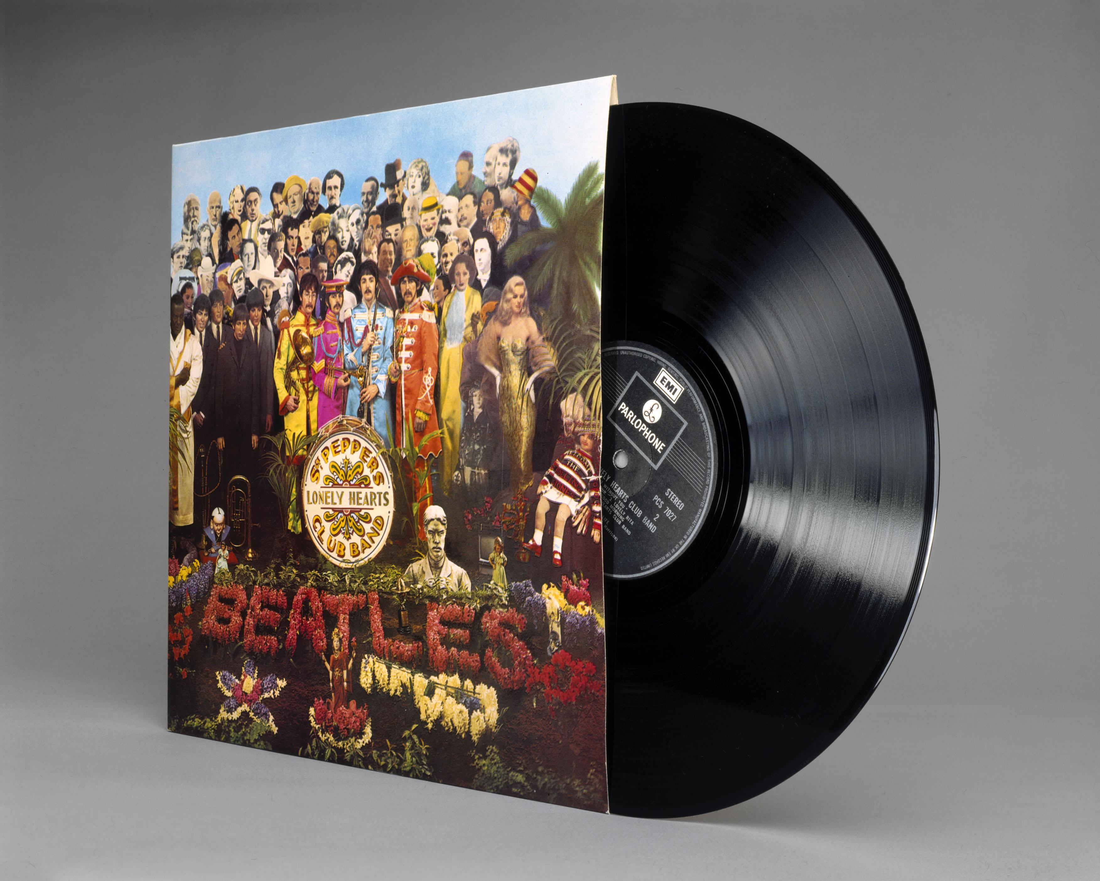 "Cover von ""Sgt. Pepper's"""