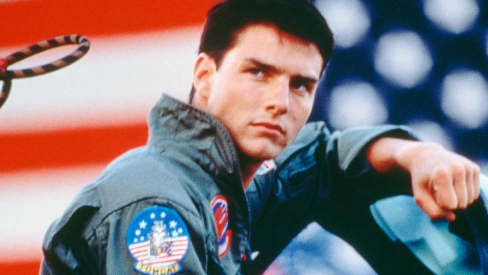 "Tom Cruise als Lieutenant Pete 'Maverick' Mitchell in ""Top Gun"""