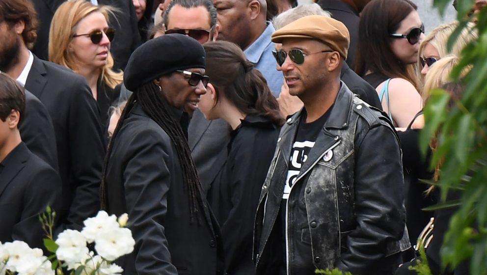 Nile Rodgers und Tom Morello verabschieden sich von Chris Cornell