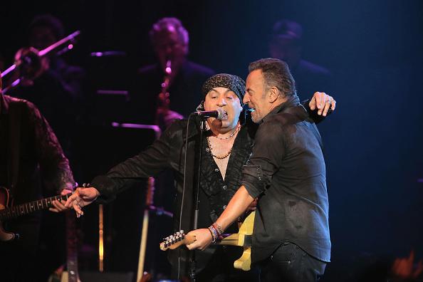 Bruce Springsteen und Steven Van Zandt beim 'Asbury Park Music and Film Festival'