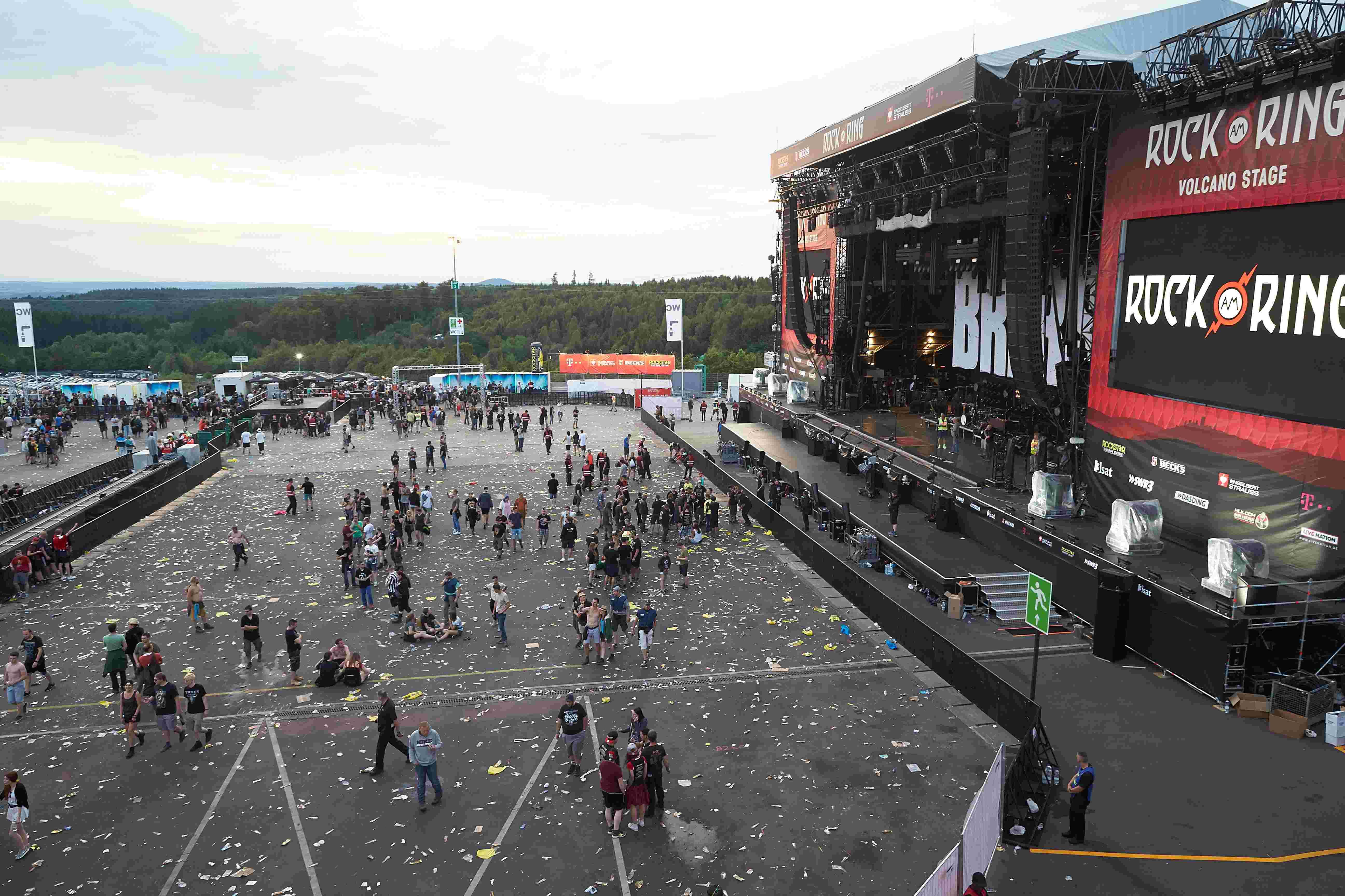 Rock Am Ring Terror Unterbrechung Wegen Eines Schreibfehlers