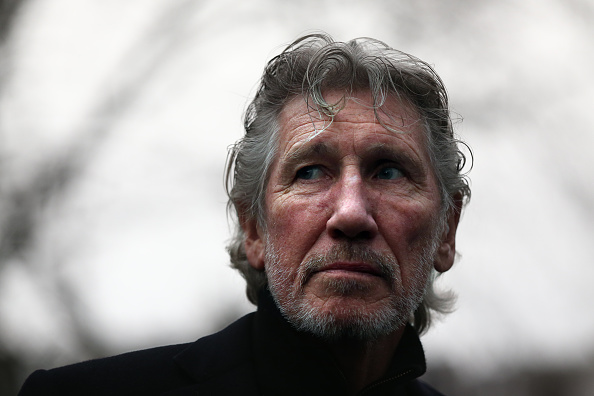 LONDON, ENGLAND - FEBRUARY 13:  Former Pink Floyd member, Roger Waters, attends a protest by the We Stand With Shaker campaig