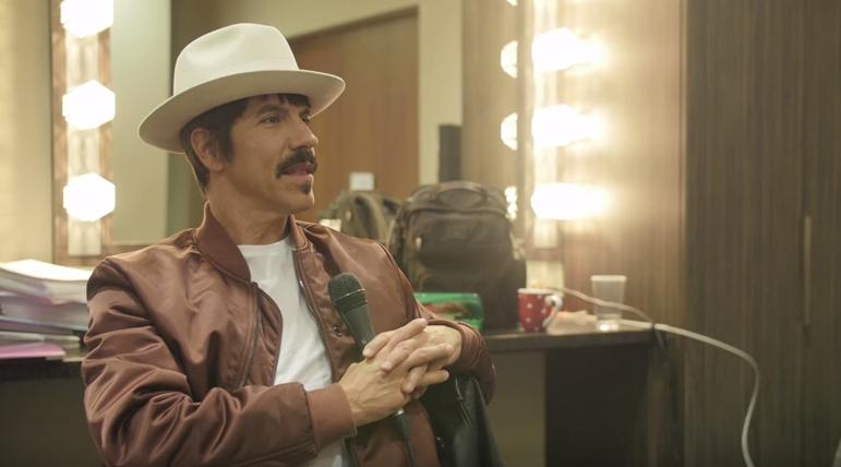 Anthony Kiedis im Radio-Gespräch
