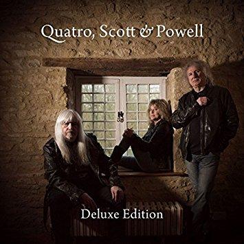"""Quatro, Scott & Powell: """"Quatro, Scott & Powell"""". ★½. Die letzten Glam-Rock-Größen stampfen durch ihre Standards."""