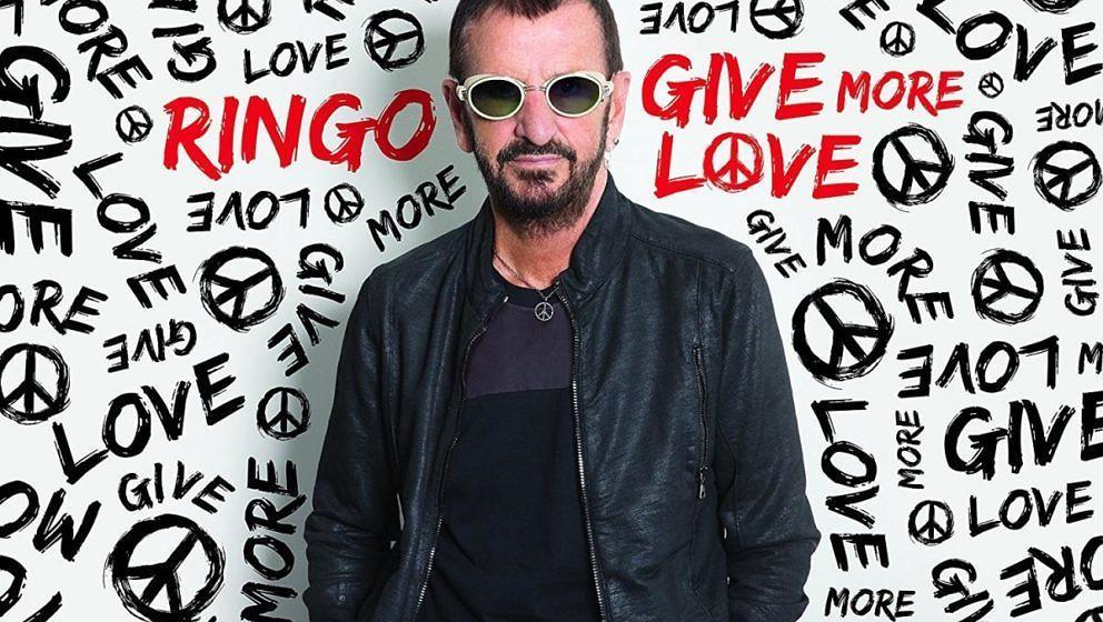 """Ringo Starr: """"Give More Love"""" ★★. Gemächlicher Altherrenrock mit  vielen Gitarristenfreunden."""