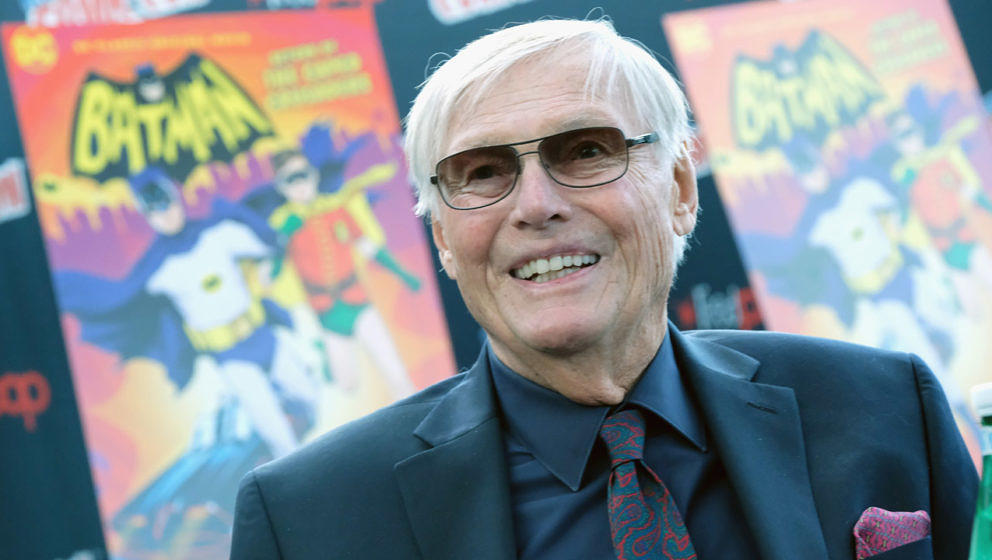 Adam West (* 19. September 1928 in Walla Walla, Washington; † 9. Juni 2017 in Los Angeles, Kalifornien)