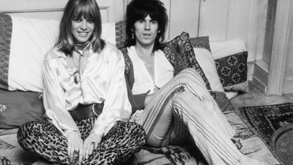 Rolling Stone Keith Richards und Anita Pallenberg