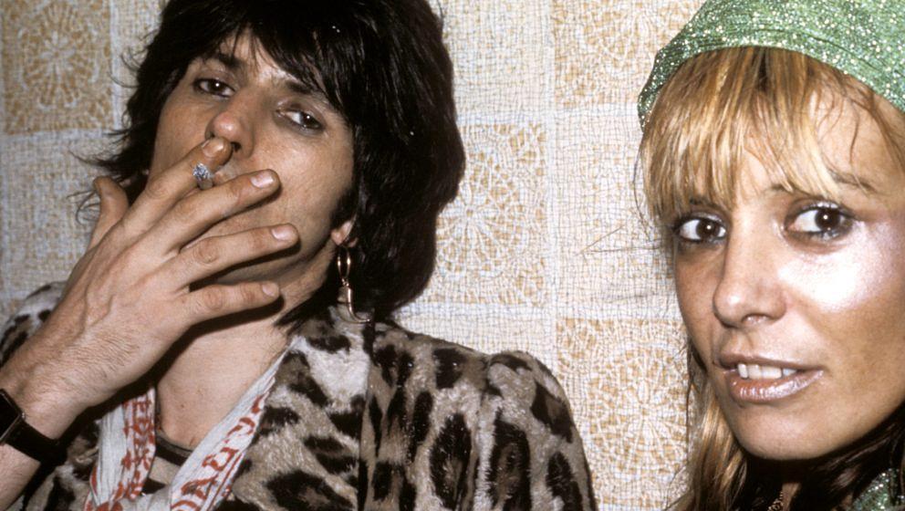 Keith Richards und Anita Pallenberg