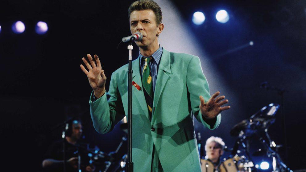 David Bowie beim Tribute-Konzert für Freddie Mercury