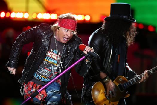 Guns N'Roses spielen am Donnerstag auf dem Messegelände in Hannover.