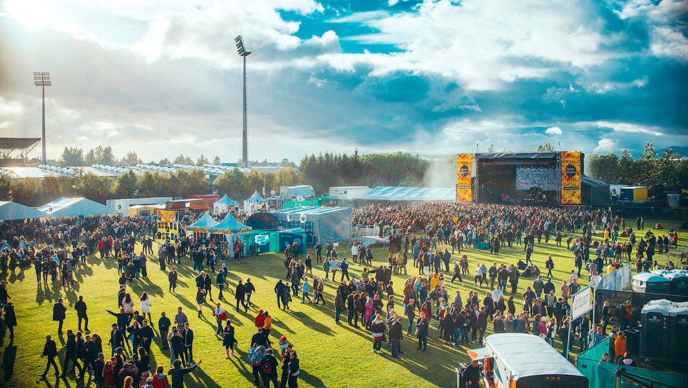 Das Secret Solstice Festival auf Island