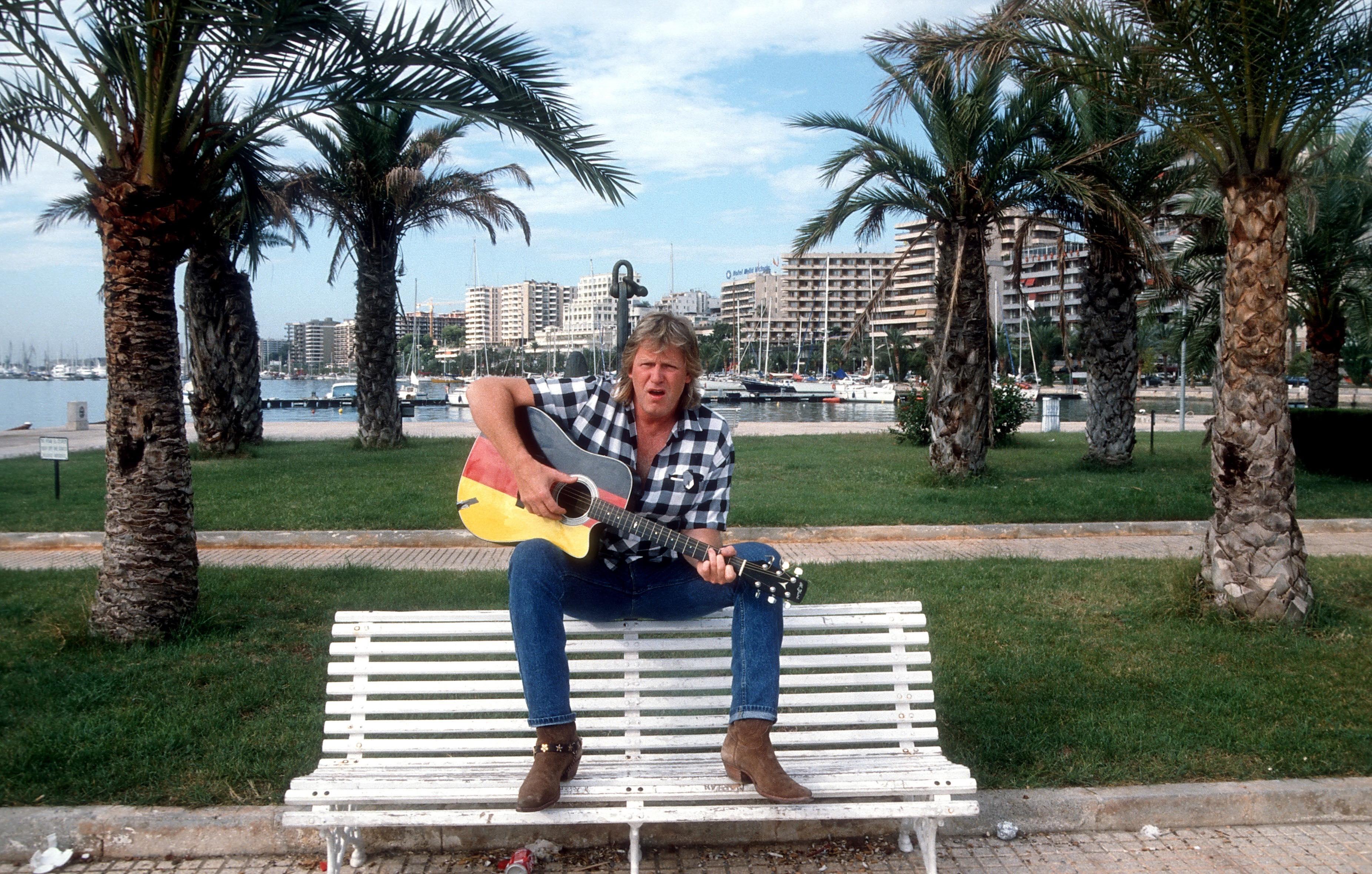 Gunter Gabriel in seiner zweiten Heimat: Mallorca