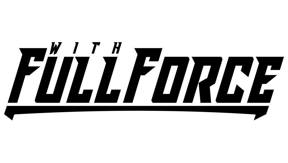With full force logo