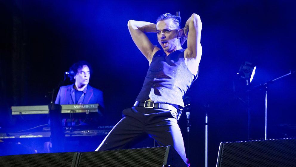 Ist Dave Gahan von Depeche Mode krank?