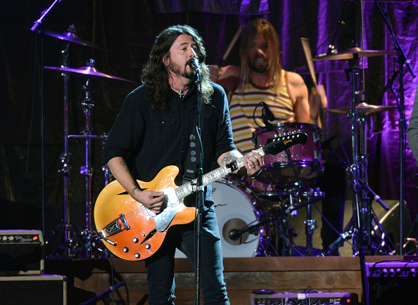 """Singt """"Sunday Rain"""" für die Foo Fighters: Drummer Taylor Hawkins."""