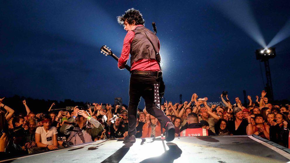 Scheessel: Green Day am 20170623 beim Hurricane Festival 2017.Foto: Heiko Sehrsam
