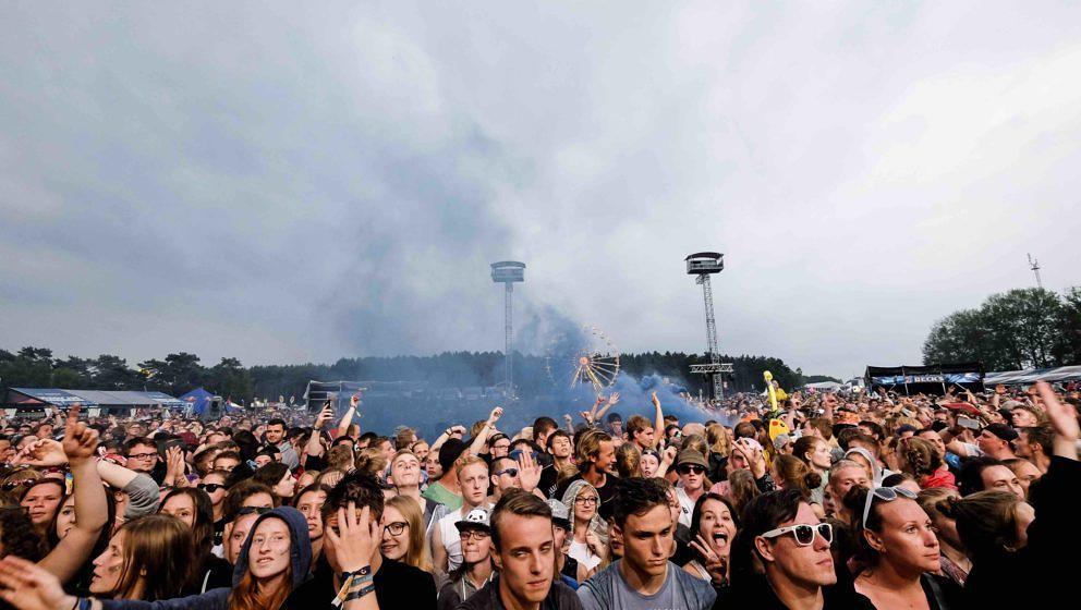 Scheessel: SDP am 20170623 beim Hurricane Festival 2017.Foto: Heiko Sehrsam