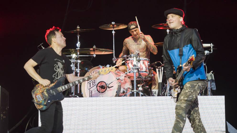 Scheessel: Blink 182 am 20170624 beim Hurricane Festival 2017.Foto: Heiko Sehrsam