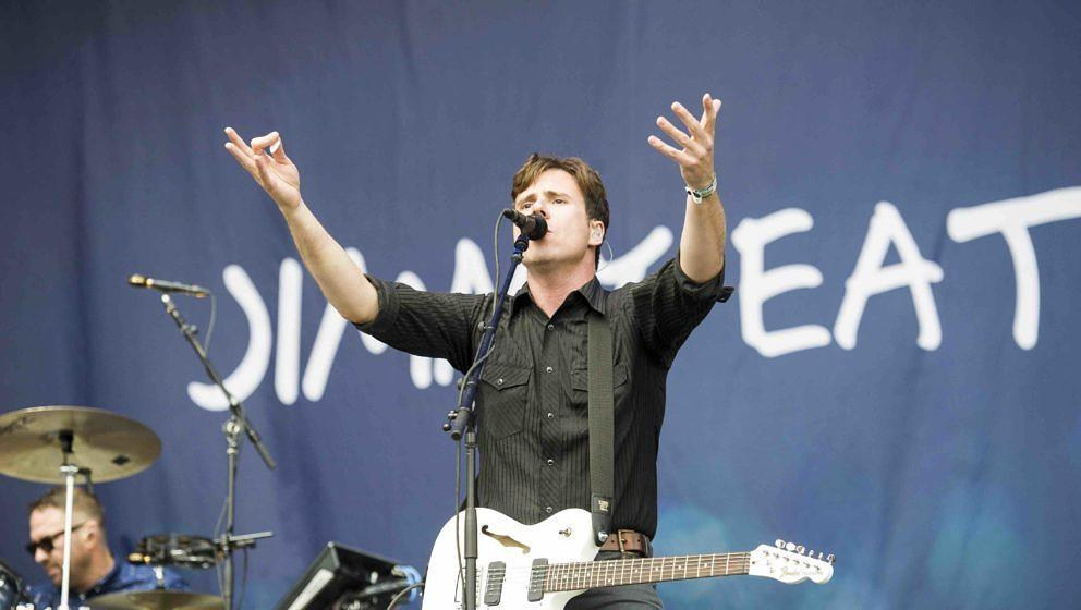 Scheessel: Jimmy Eat World am 20170624 beim Hurricane Festival 2017.