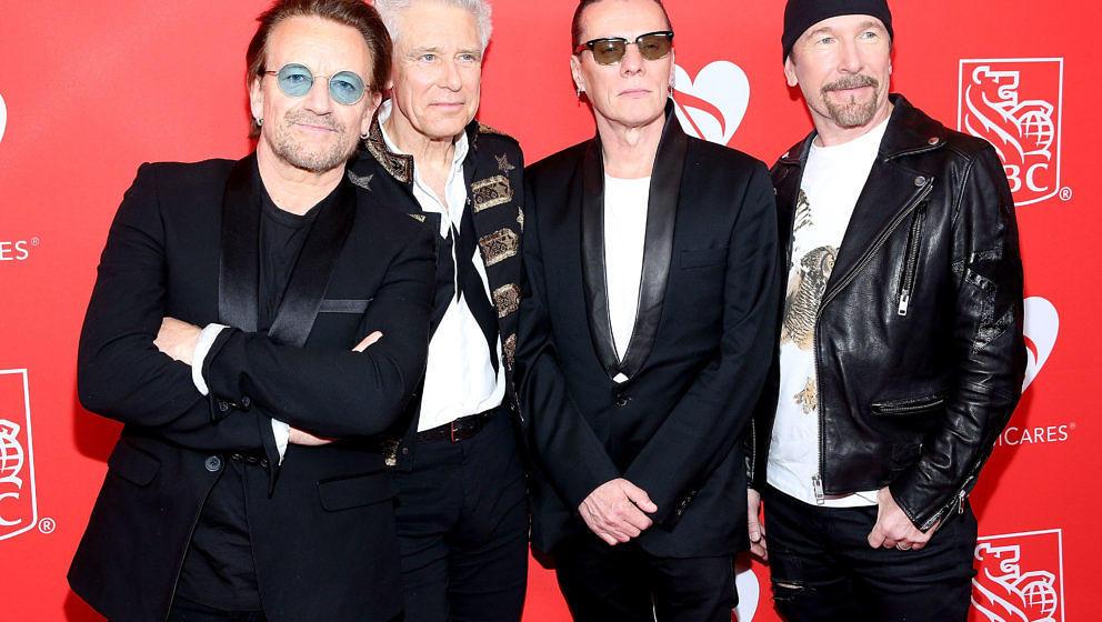 Bono, Adam Clayton, Larry Mullen und The Edge