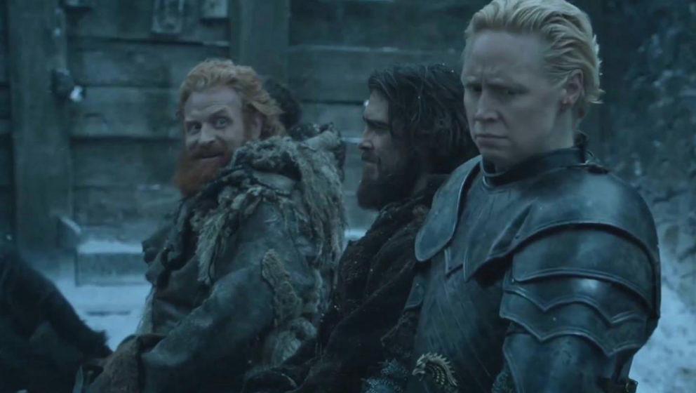 Diesem Lächeln kann Brienne von Tarth sehr wohl widerstehen
