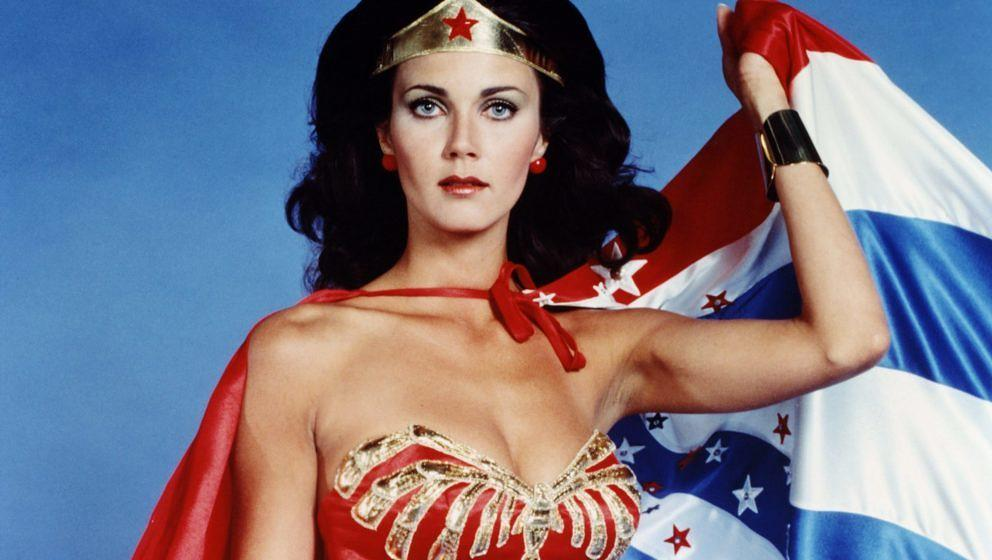 "Lynda Carter als ""Wonder Woman"""