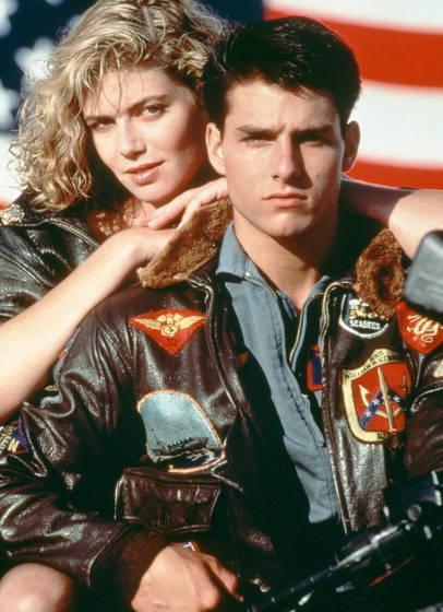 "Tom Cruise als Maverick im Film ""Top Gun"" aus dem Jahr 1986."