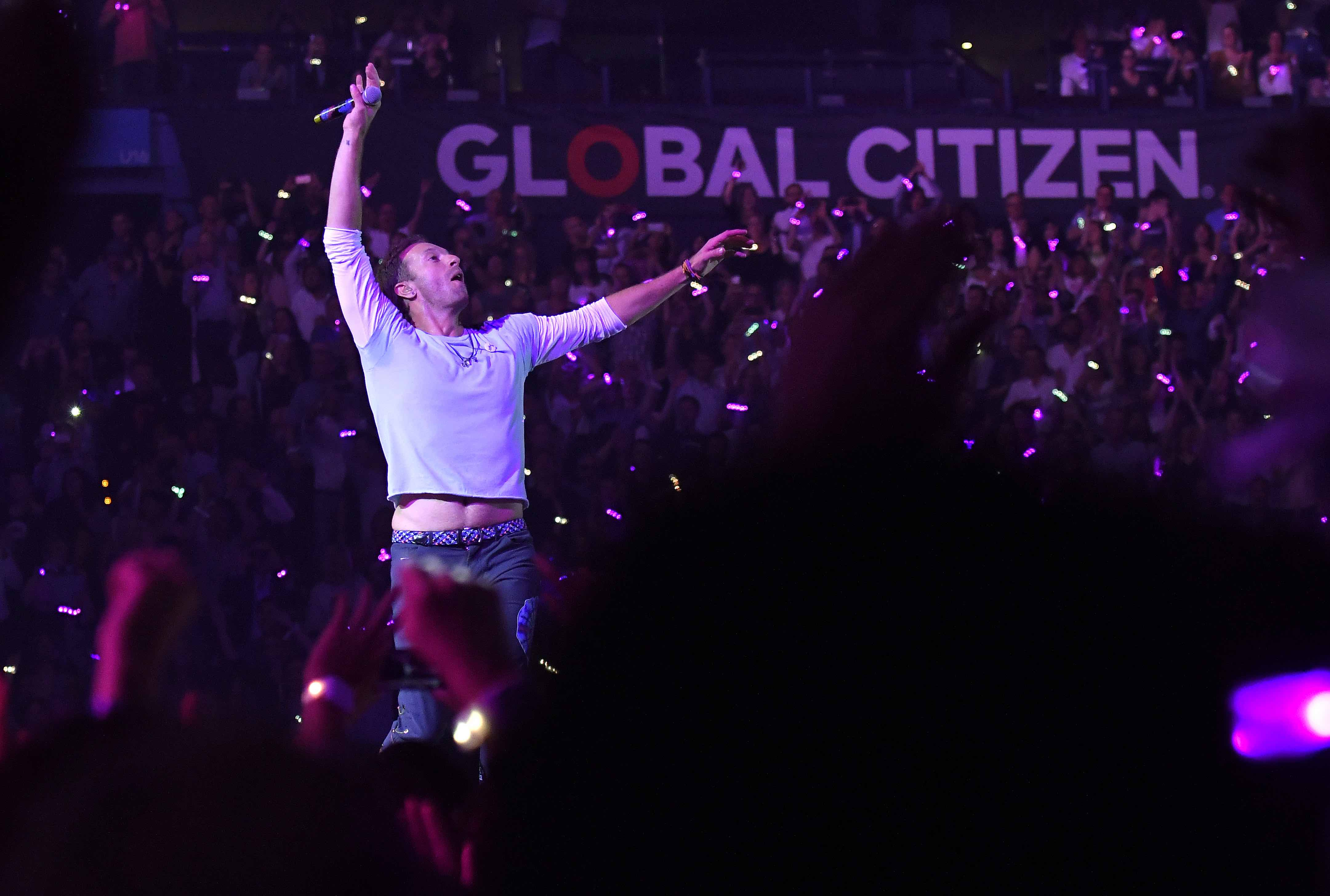 "Coldplay beim ""Global Citizen""-Konzert in Hamburg"