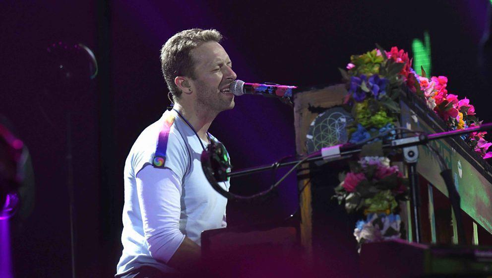 Chris Martin und Coldplay auf der Suche nach extraterrestrischen Klängen
