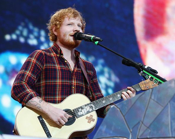 Alle wollen Ed Sheeran sehen.