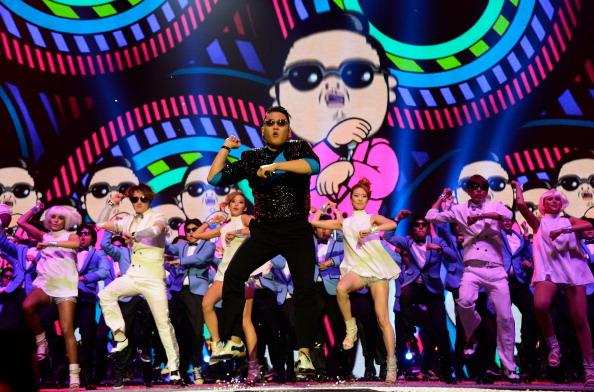 """Psy und sein""""Gangman Style"""" sind nur noch Platz 2 auf YouTube."""