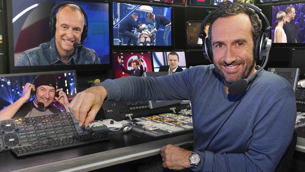 HANDOUT - Elmar Paulke präsentiert «Die ProSieben Gameshow Konferenz» (undatierte Aufnahme). Zwei Wochen später als gepla