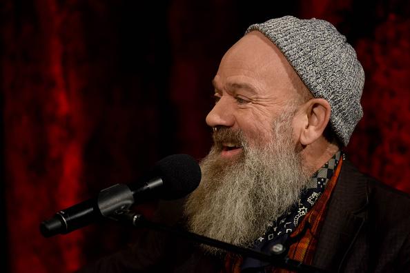 Michael Stipe unterstützt Radiohead bei ihrem Auftritt in Tel Aviv.