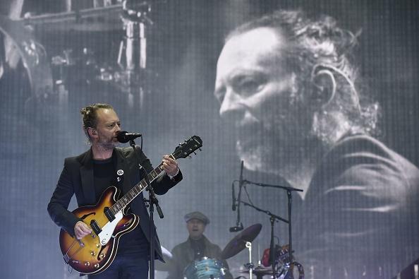 Spielten trotz Kritik in Tel Aviv: Radiohead (im Bild: Thom Yorke).