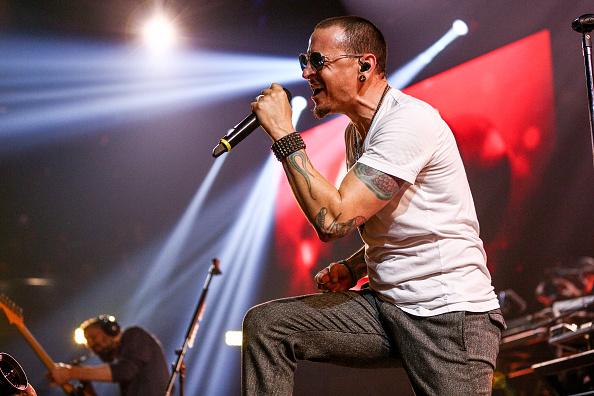 """Chester Bennington und Linkin Park hatten noch Spaß bei """"Carpool Karaoke""""."""
