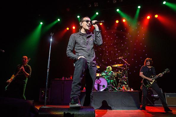 Chester Bennington sang zwei Jahre bei den Stone Temple Pilots.