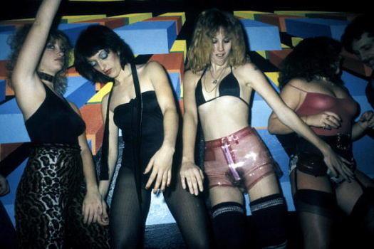 Frauen im Xenon in New York im Jahr 1978.