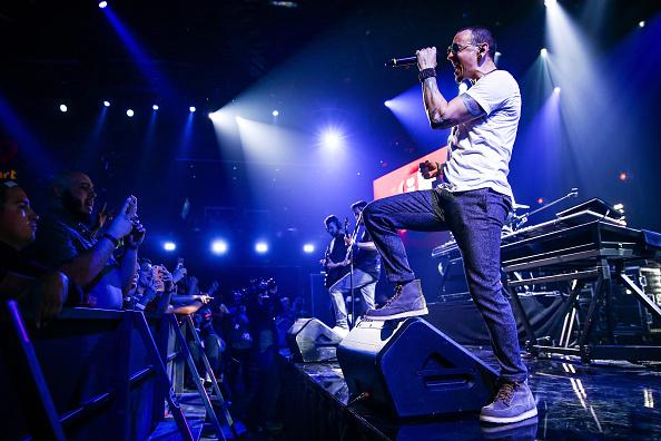 Chester Bennington von Linkin Park im Jahr 2017.