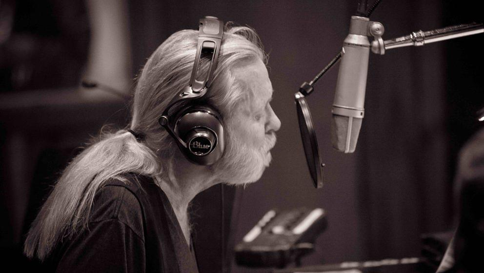 Gregg Allman im Studio