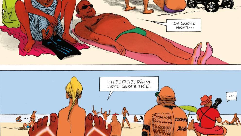 """""""Rein in die Fluten"""" ist die perfekte Comic-Reiselektüre für den Urlaub"""