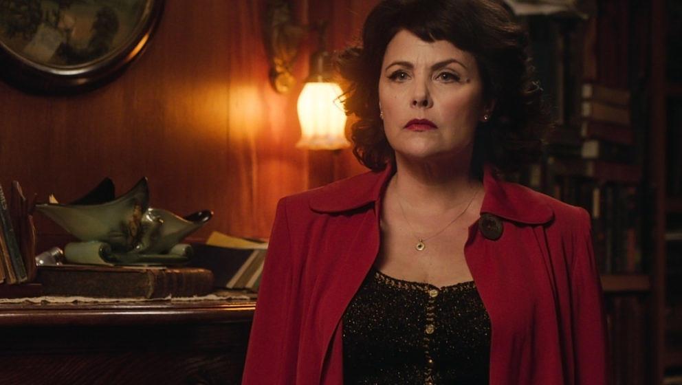 Audrey Horne (Sherilyn Fenn) in ihrer ersten Szene in der neuen Staffel