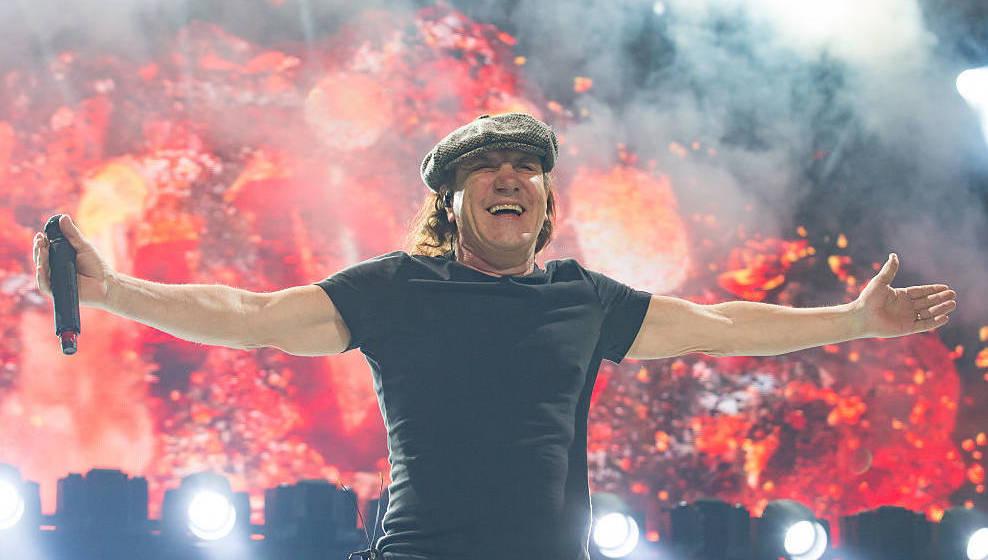 Brian Johnson von AC/DC