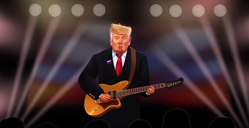 Singer-Songwriter Donald Trump