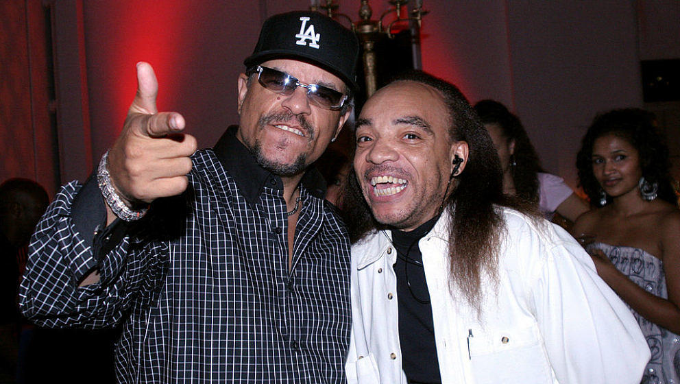 Ice-T and Kidd Creole during 2005 VH1 Hip Hop Honors - Pre-Party at Splashlight Studios in New York City, New York, United St