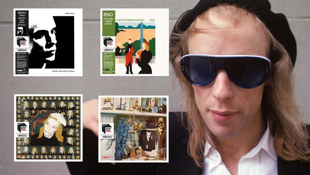 Vier Meisterwerke von Brian Eno auf einen Streich