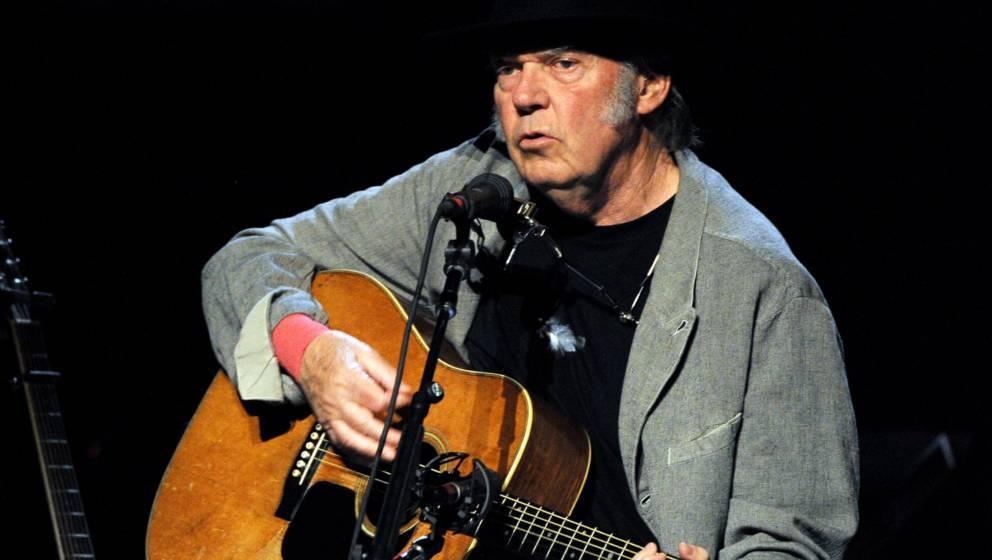 Singer/songwriter Neil Young bringt sein Musikarchiv ins Netz
