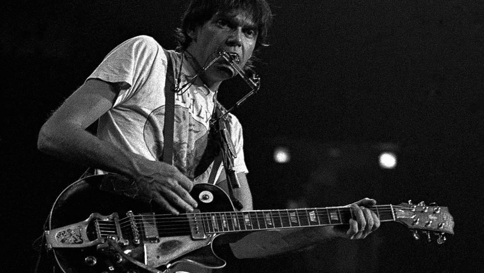 Neil Young während der 'Rust Never Sleeps'-Tour