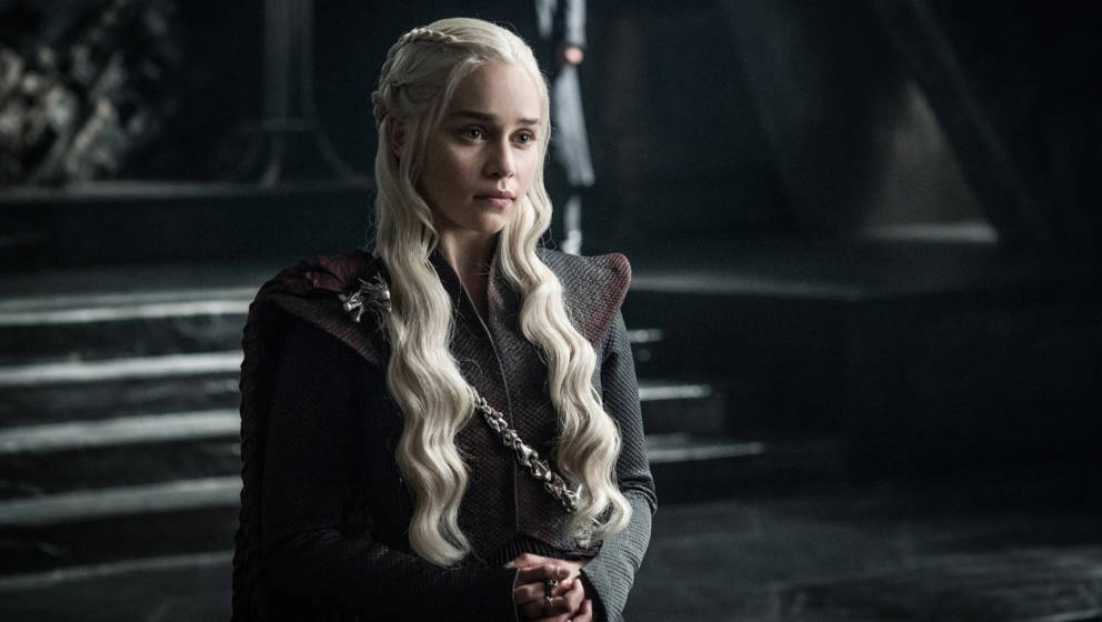 "Emilia Clarke als Daenerys Targaryen in der siebten Staffel ""Game Of Thrones"""