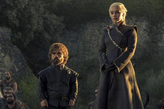 Daenerys Targaryen und Tyrion Lannister