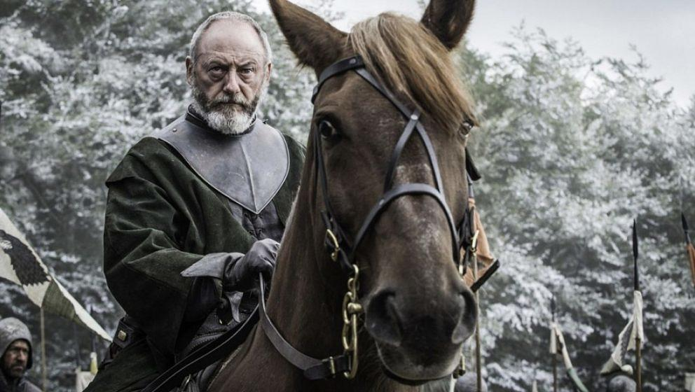 "Davos Seaworth (Liam Cunningham) in ""Game Of Thrones"""